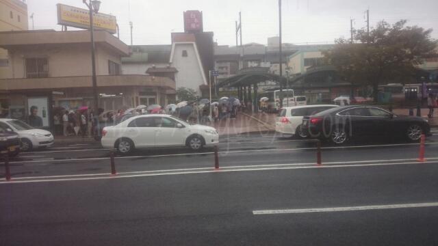 広電・カープ優勝記念乗車券の横川駅の行列