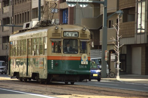 広島電鉄の路面電車